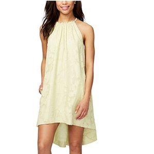 Rachel Rachel Roy citron halter neck tunic dress